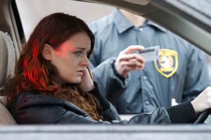 Female DUI stop
